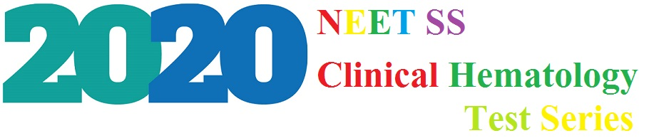 DM/DNB Clinical Hematology 2020 Test Series and Preparation
